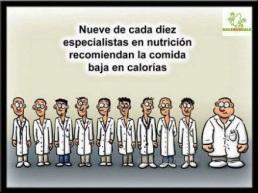 estadística comida sana